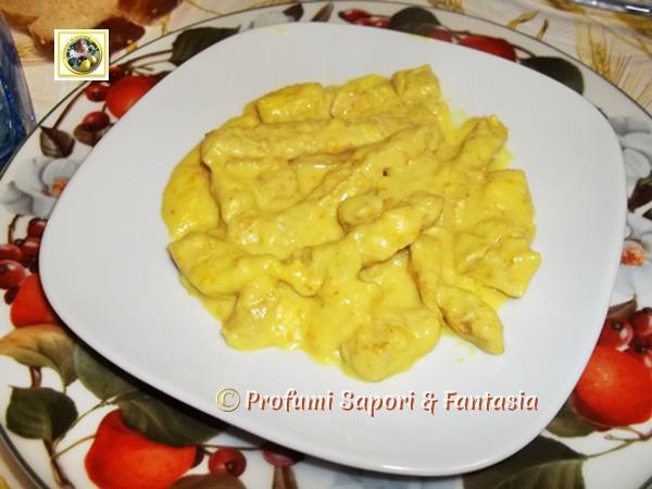 Straccetti di tacchino al curry ricetta  Blog Profumi Sapori & Fantasia