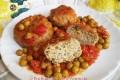 Polpette di carne al sugo con ricotta e spinaci