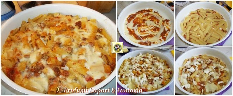 Rigatoni gratinati al forno ricetta saporita Blog Profumi Sapori & Fantasia