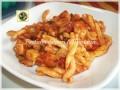 Casarecce ricetta al sugo di pesce persico e zucchine