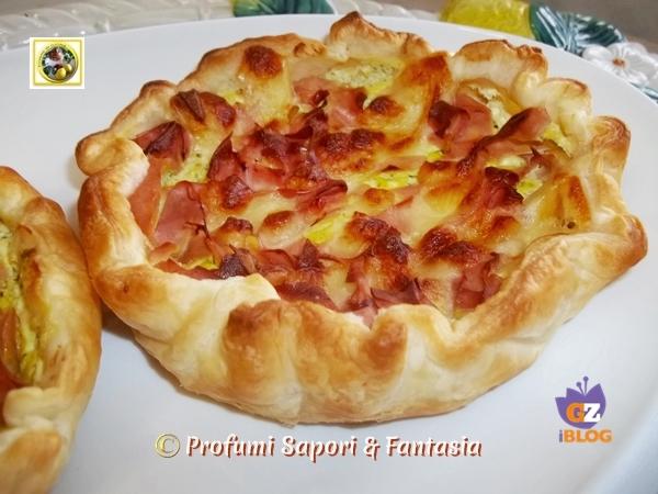 Cestini di pasta sfoglia ripieni salati  Blog Profumi Sapori & Fantasia