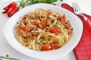 Spaghetti al sugo di mare