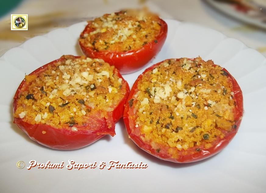 Pomodori gratinati al forno ricetta facile Blog Profumi Sapori ...