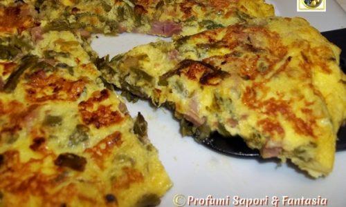 Frittata agli asparagi selvatici ricetta facile