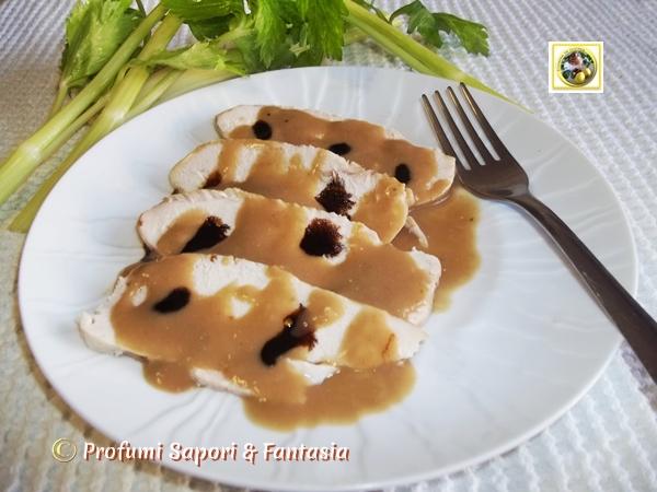 Petto di pollo in salsa di senape e balsamico Blog Profumi Sapori & Fantasia