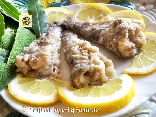 Pesce marinato ricetta base, passo passo