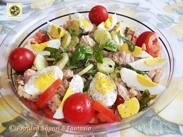 Assez Insalata di verdure e tonno con uova sode BW06