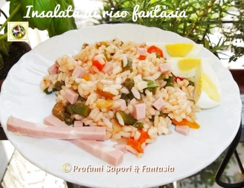 Insalata di riso fantasia, ricetta veloce