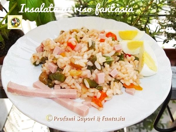 Insalata di riso fantasia, ricetta veloce  Blog Profumi Sapori & Fantasia