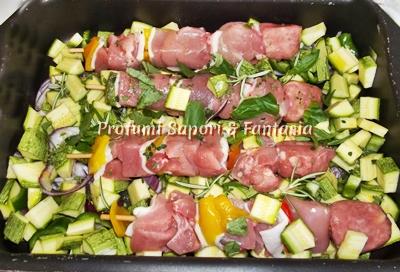 Ricetta carne al forno con verdure
