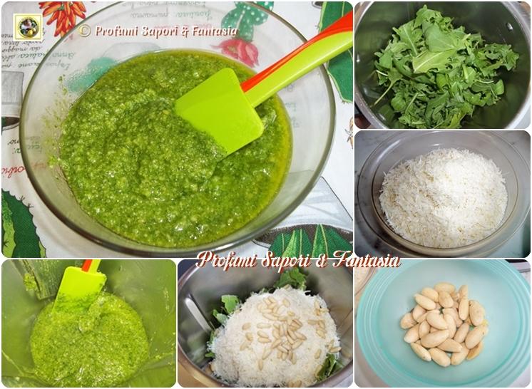 Pesto di rucola con il Bimby e tradizionale Blog Profumi Sapori & Fantasia