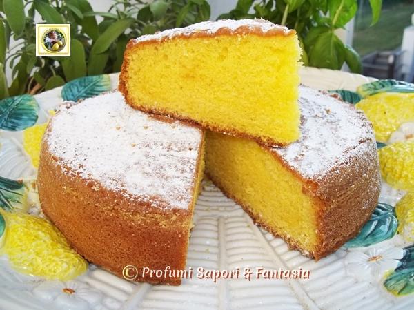 Torta soffice al limoncello ricetta golosa con procedimento passo passo - Bagno per torte senza liquore ...