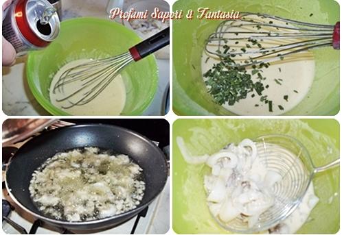 Seppioline fritte in pastella alla birra e salvia  Blog Profumi Sapori & Fantasia