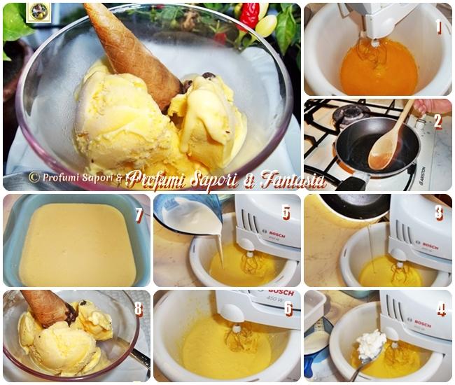 Gelato di ricotta senza gelatiera, ricetta facile Blog Profumi Sapori & Fantasia