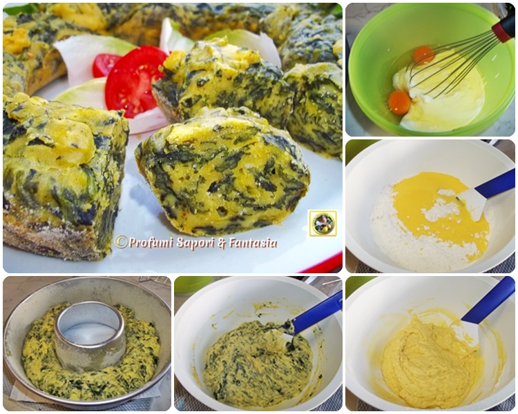 Sformato con spinaci e yogurt, ricetta facile Blog Profumi Sapori & Fantasia