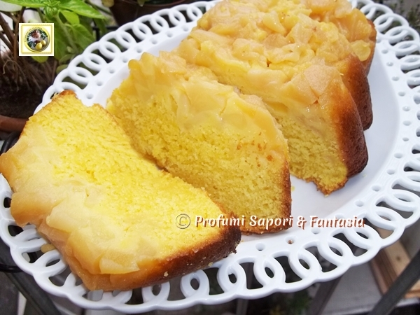 Plumcake soffice alle mele Blog Profumi Sapori & Fantasia