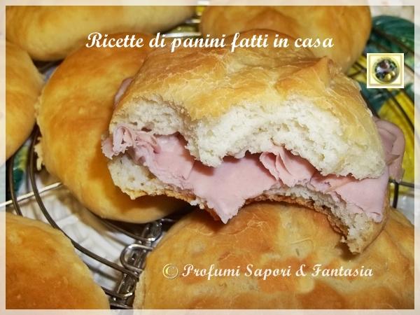 Ricette di panini fatti in casa profumi sapori fantasia - Profumi per ambienti fatti in casa ...