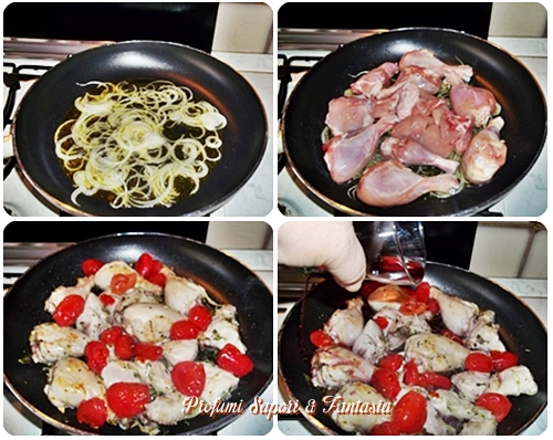 Pollo alla cacciatora con patate Blog Profumi Sapori & Fantasia