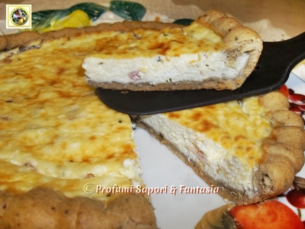 Torte salate di pasta frolla