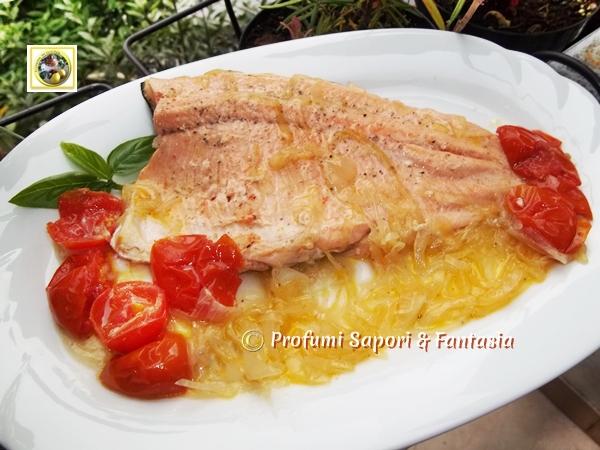 Filetti Di Trota Salmonata In Padella Ricetta Facile
