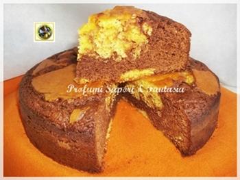 Torta variegata con cioccolato al latte Blog Profumi Sapori & Fantasia