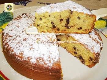 Torta Margherita con gocce di cioccolato Blog Profumi Sapori & Fantasia