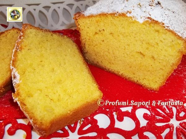 Plum cake allo yogurt sofficissimo Marys Profumi Sapori & Fantasia