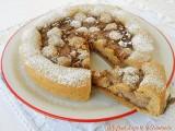 Crostata di frolla al caffè con ricotta e Nutella