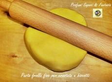 Pasta frolla fine per biscotti e crostate