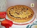 Crostata sbriciolata alla marmellata di ciliegie