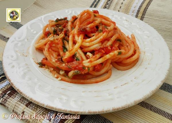 Pasta speck rucola e nocciole  Blog Profumi Sapori & Fantasia