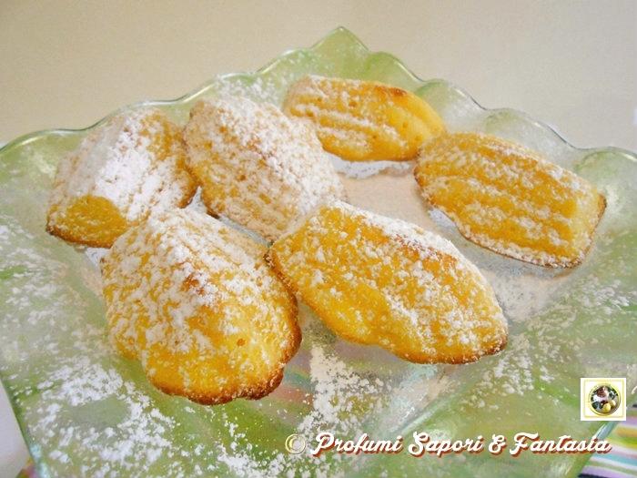 Madeleine al limone Blog Profumi Sapori & Fantasia
