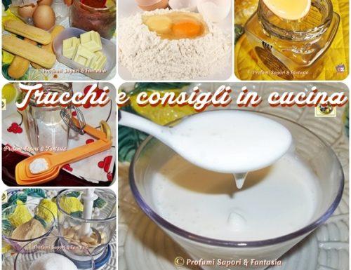 Trucchi e consigli in cucina raccolta in Pdf