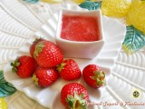 Salsa di fragole per dolci