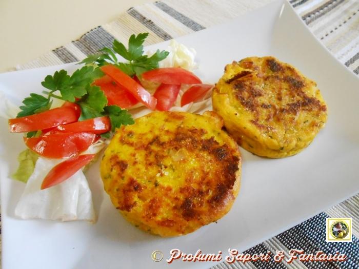 Medaglioni di patate e prosciutto in padella ricetta facile e appetitosa
