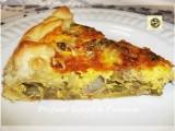 Torta salata, con carciofi e asparagi ricetta
