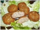 Polpette di carne e melanzane con gorgonzola