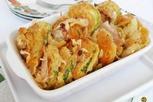 Zucchine a sandwich farcite