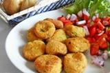 Polpette di mozzarella con zucchine
