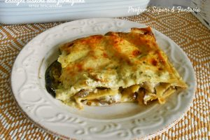Lasagne bianche alla parmigiana senza besciamella