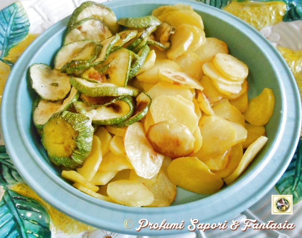 Verdure in teglia al forno non solo fritto  Blog Profumi Sapori & Fantasia