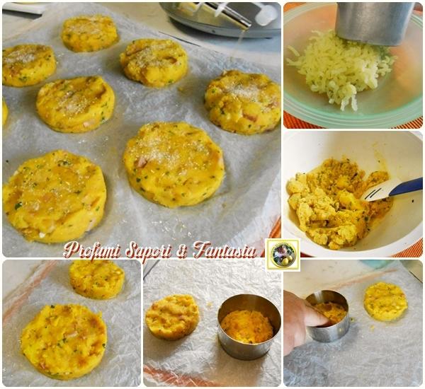 Medaglioni di patate e prosciutto in padella Blog Profumi Sapori & Fantasia