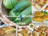Raccolta di ricette con zucchine