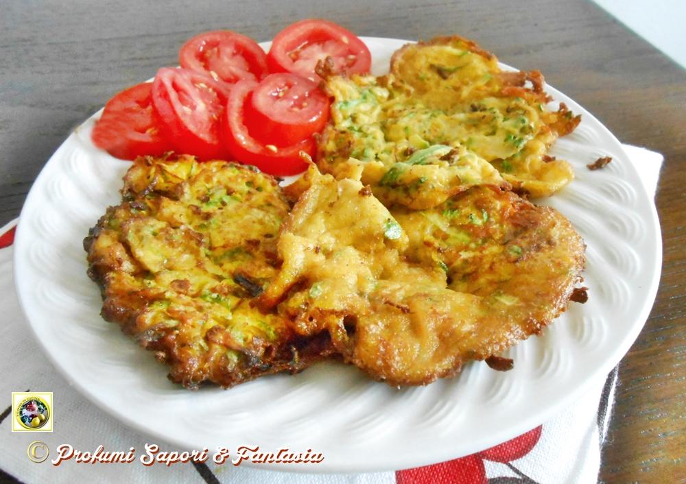 Frittelle con fiori di zucchine Blog Profumi Sapori & Fantasia