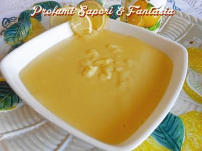 Crema pasticcera al limoncello Blog Profumi Sapori & Fantasia