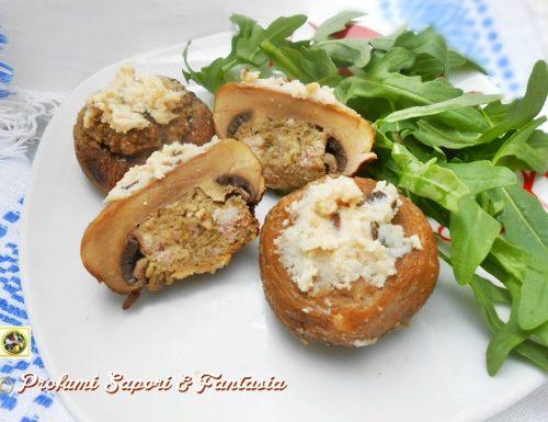 Cappelli di champignon ripieni tartufati