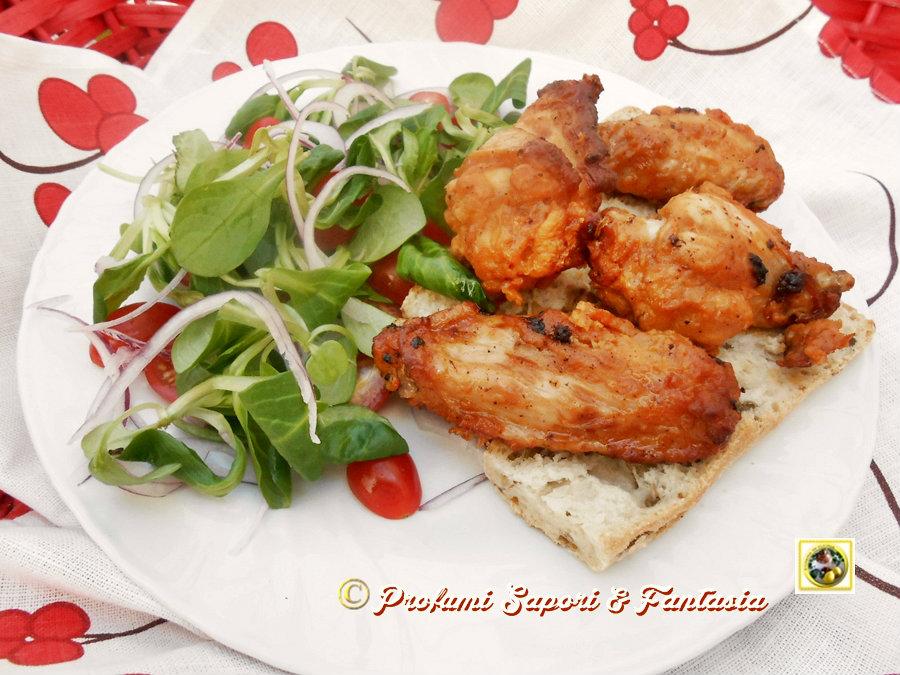 Ali di pollo alla messicana Blog Profumi Sapori & Fantasia