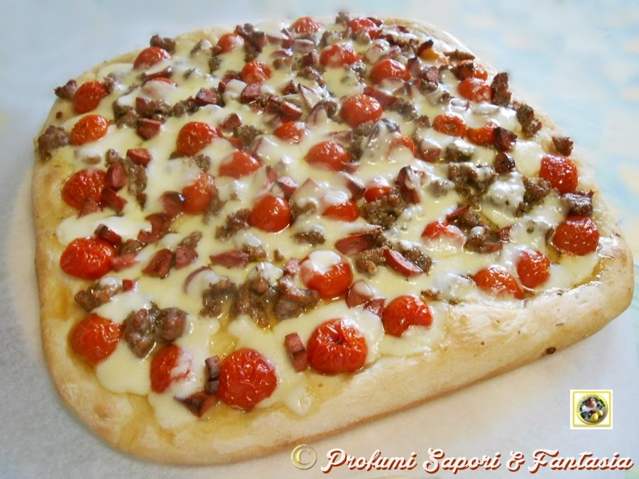 Come fare una pizza focaccia gustosa Blog Profumi Sapori & Fantasia