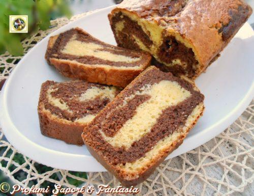 Plumcake alla panna e Nutella