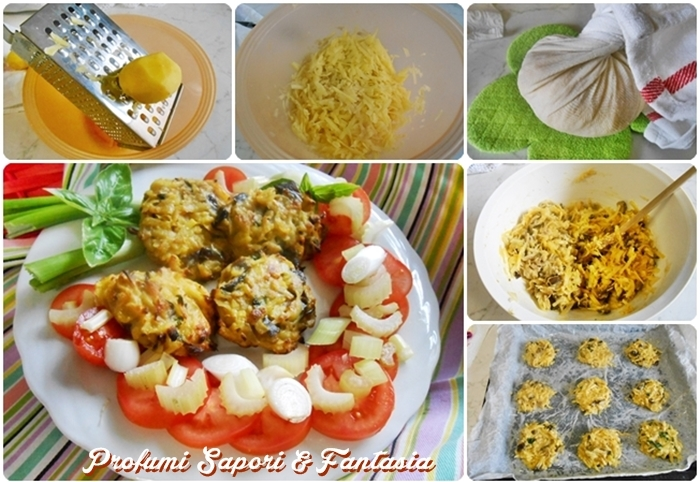 Schiacciatine con patate e melanzana  Blog Profumi Sapori & Fantasia
